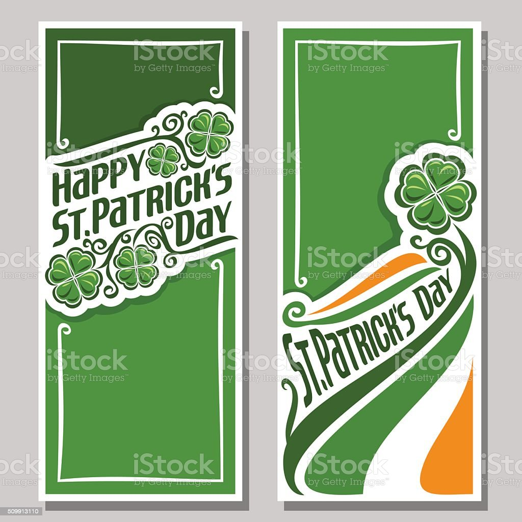 Vector illustration on the theme of St. Patrick's Day vector art illustration