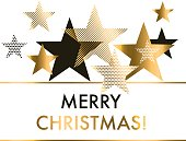 vector illustration xmas backdrop. abstract background with gold