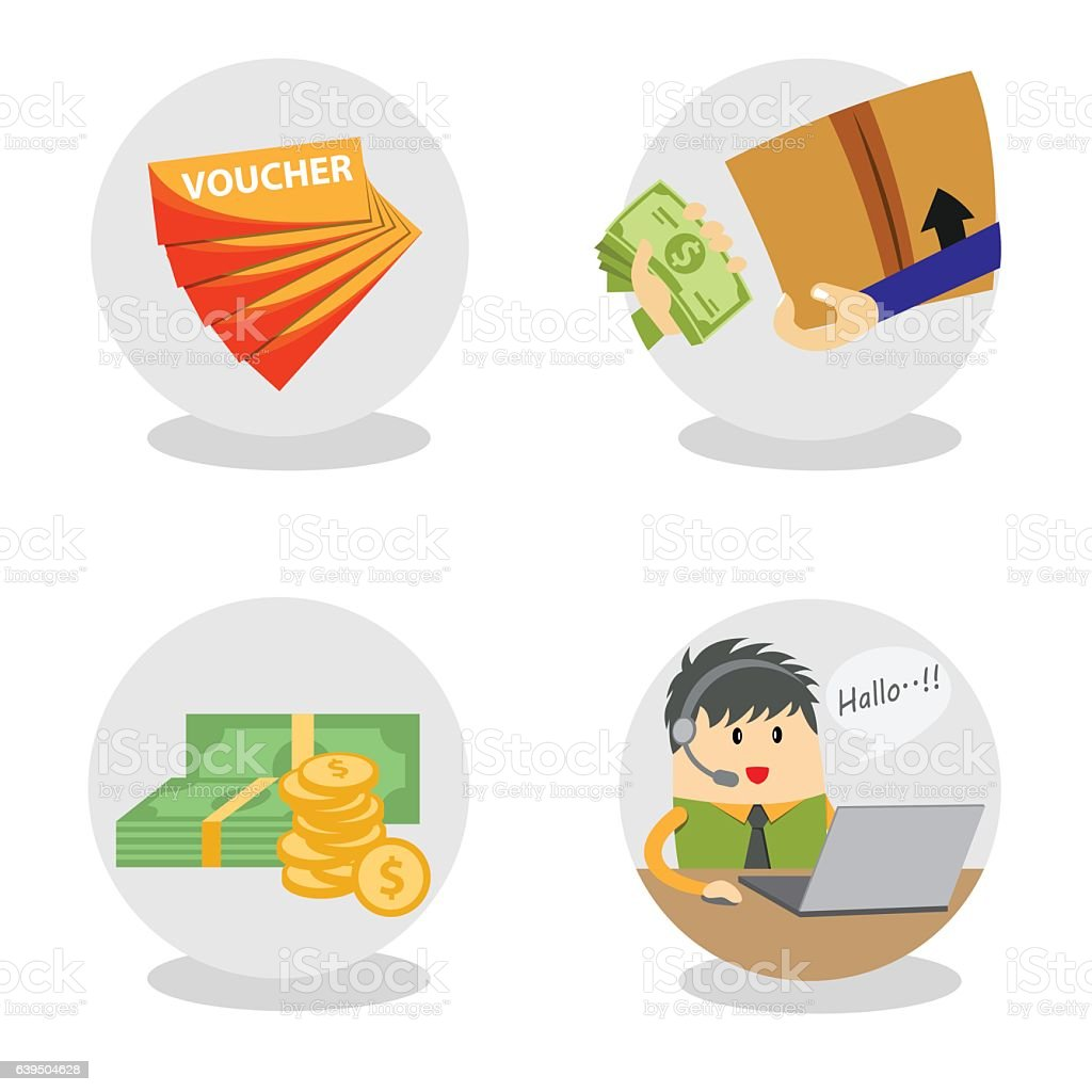 vector image commerce icon vector art illustration