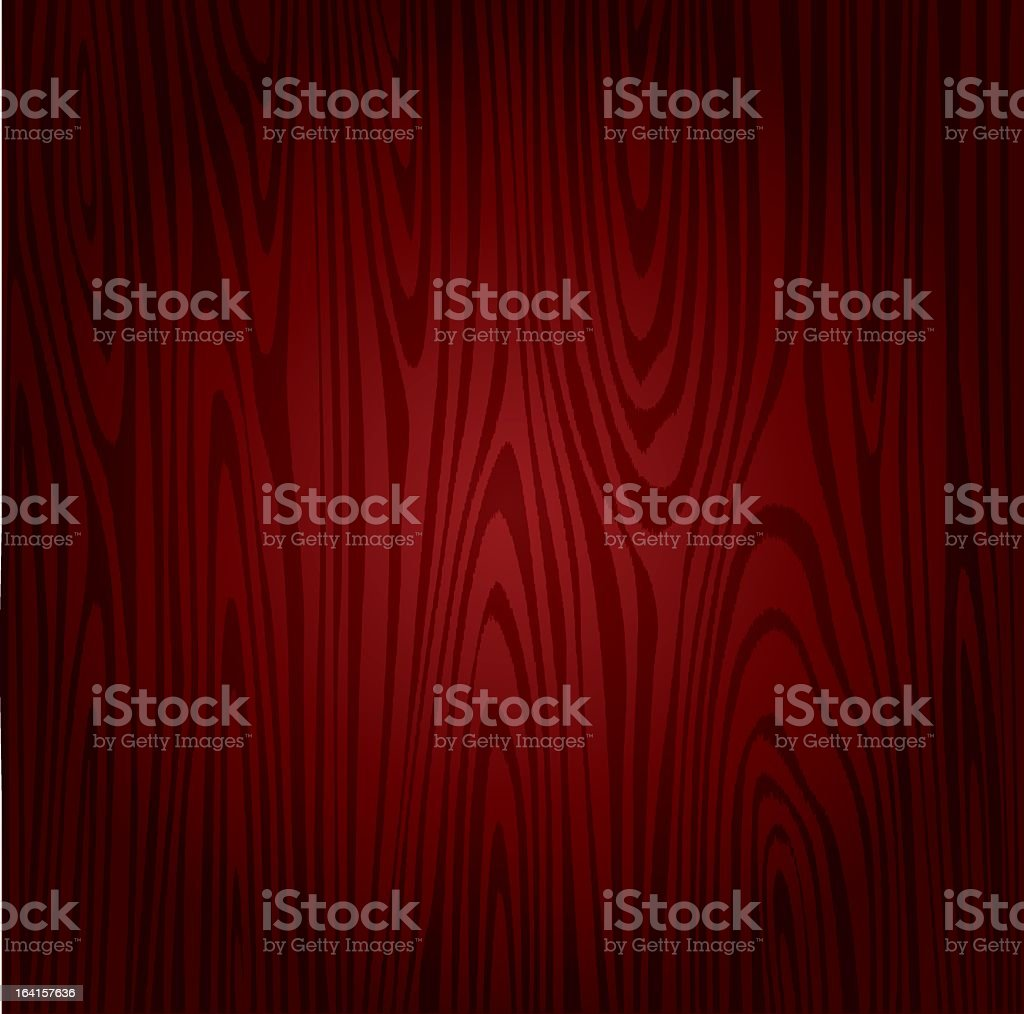 Vector image of rosewood plank background royalty-free stock vector art