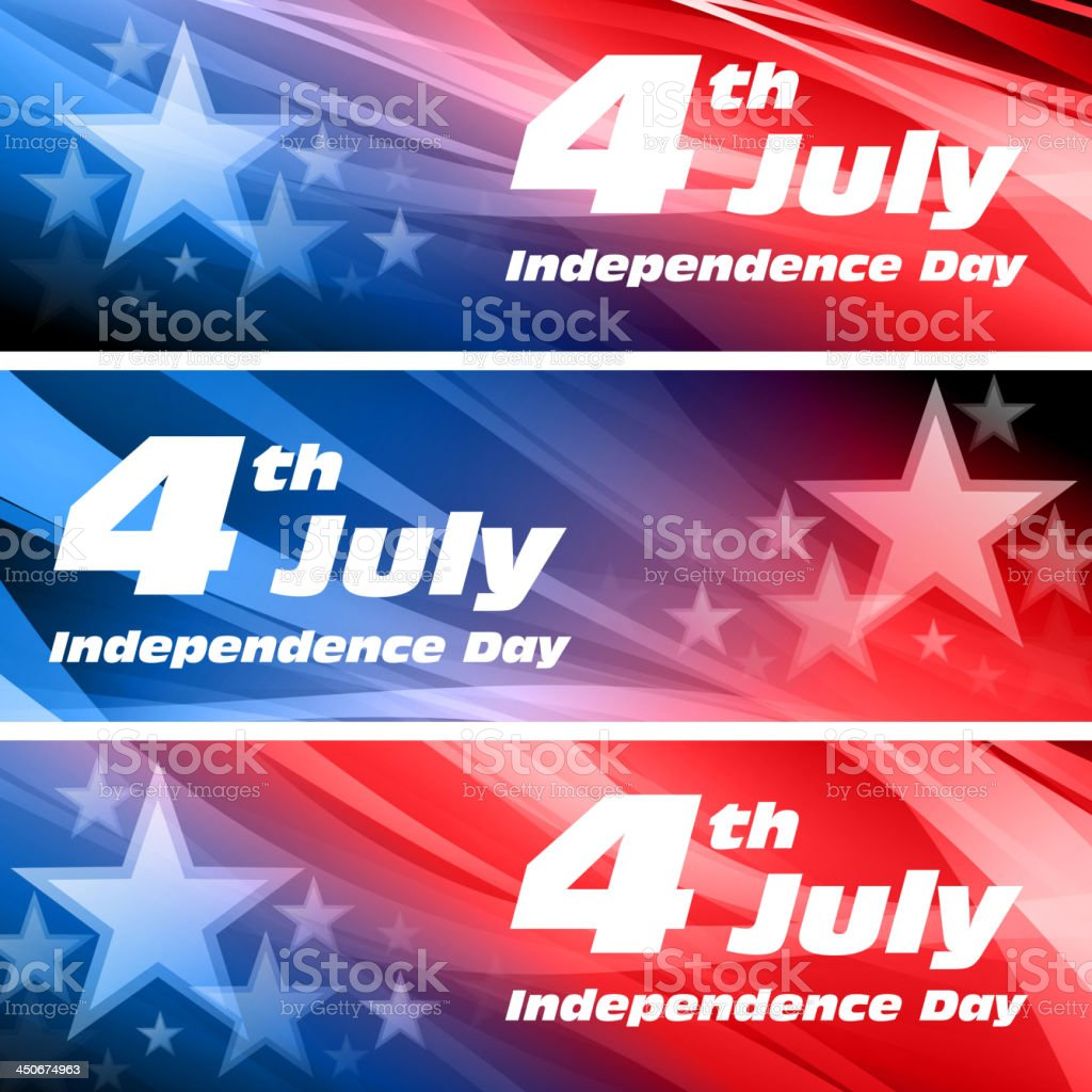 Vector independence day background vector art illustration