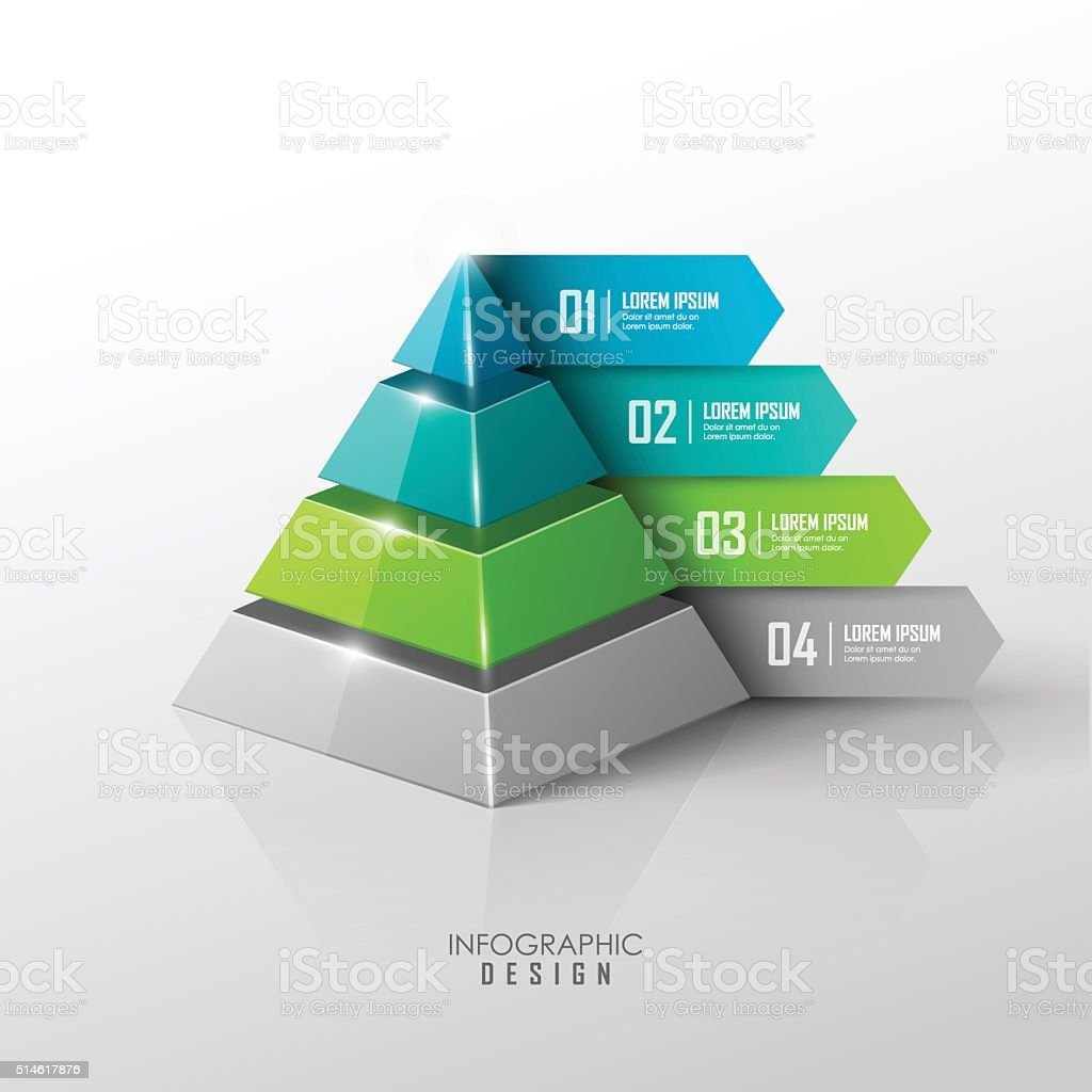 Vector infographic design elements vector art illustration