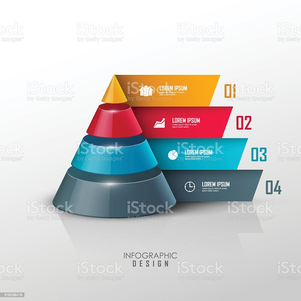 vector infographic design template vector art illustration