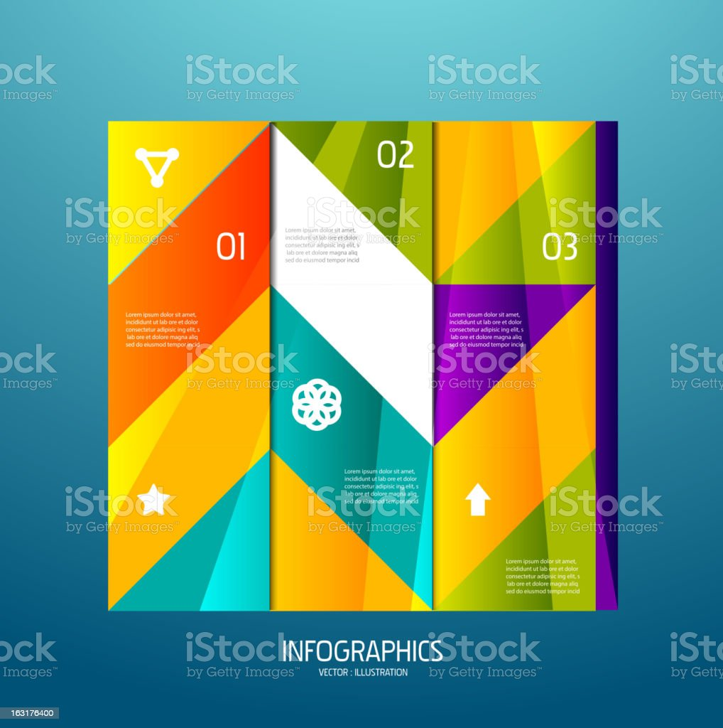 Vector infographic illustration royalty-free stock vector art