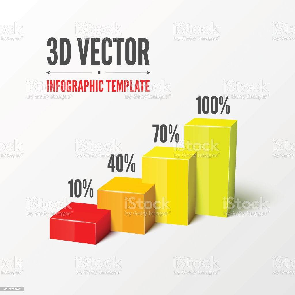 Vector infographic or web design template vector art illustration