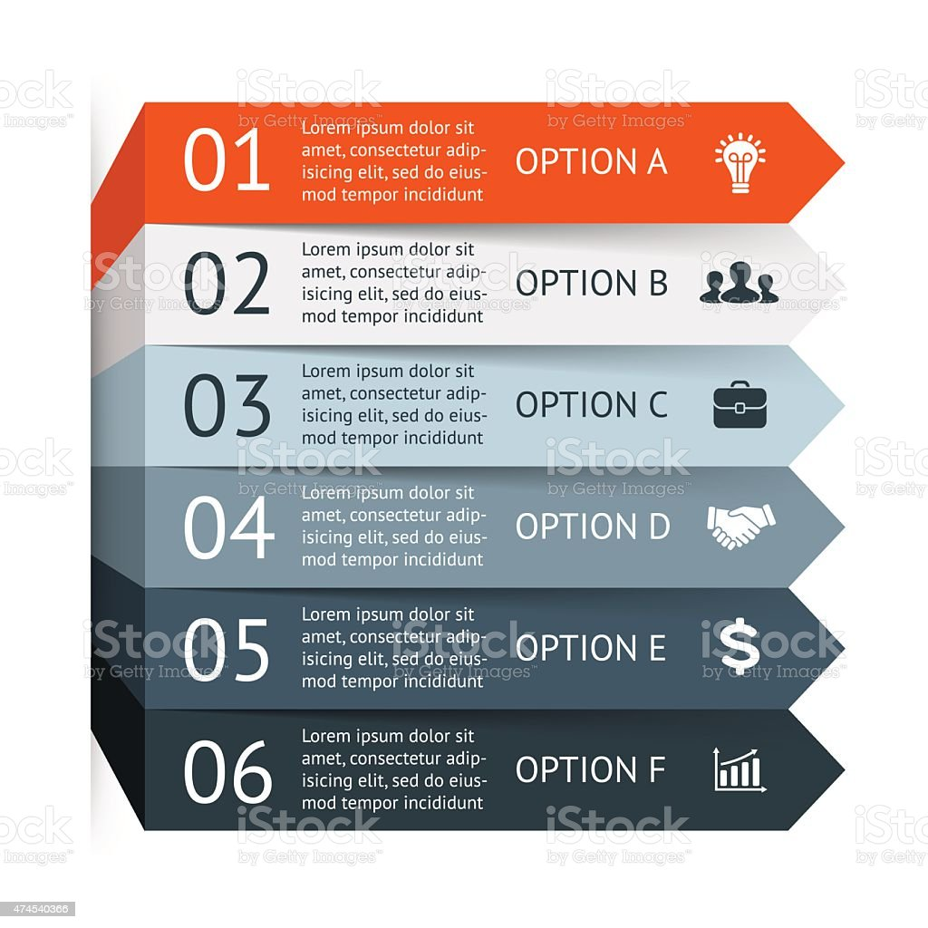 Vector infographic. Template for diagram, graph, presentation and chart. Business vector art illustration
