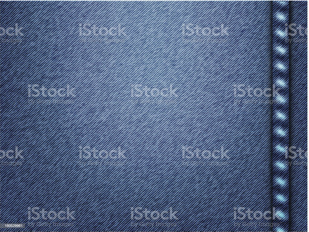 Vector jeans texture background royalty-free stock vector art