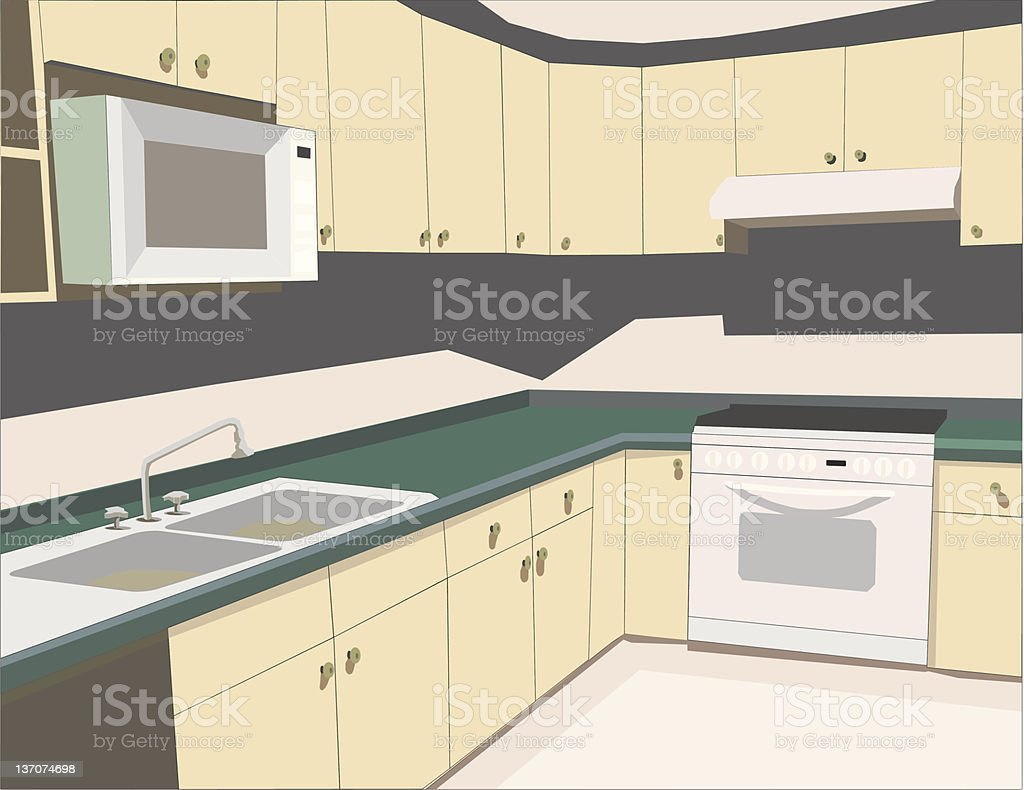 Cocina vector vector art illustration