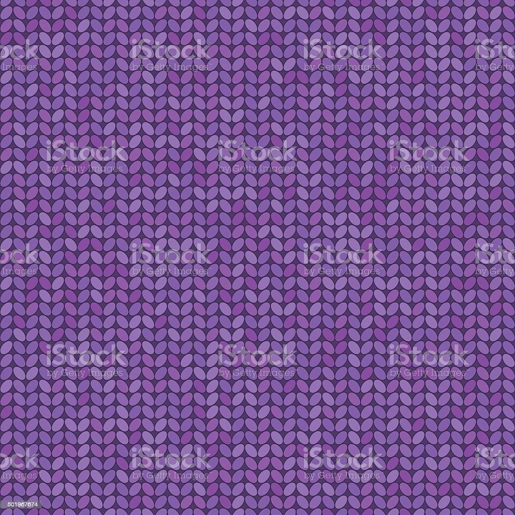 Vector knitted seamless pattern vector art illustration