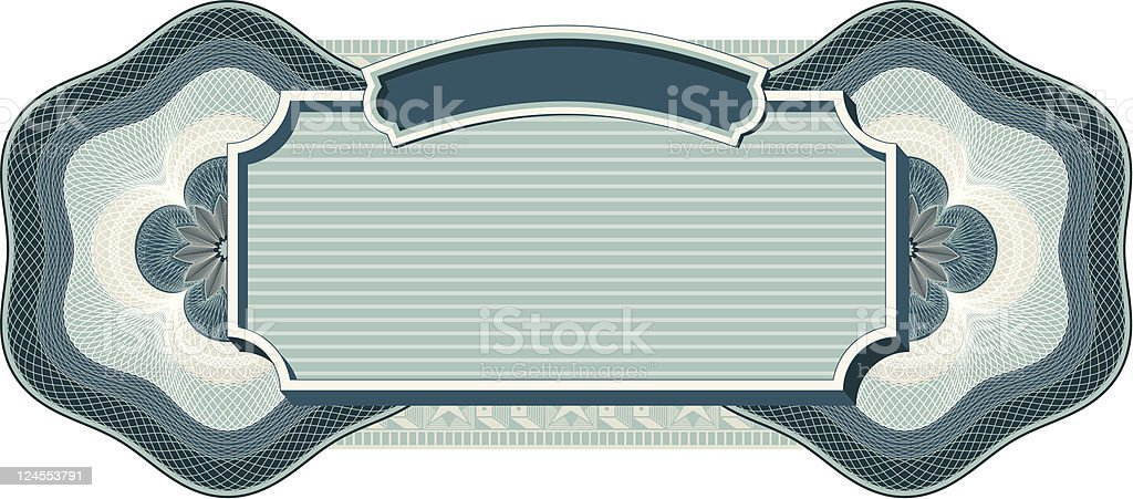 Vector Label Design royalty-free stock vector art