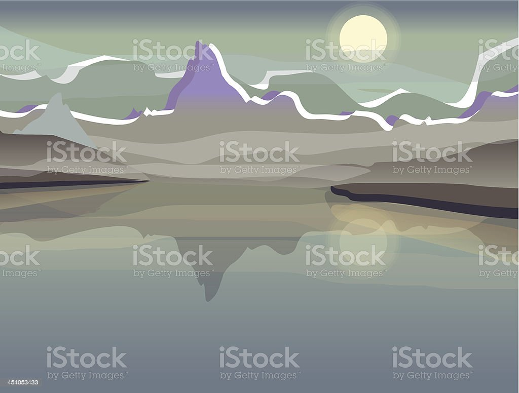 Vector landscape royalty-free stock vector art
