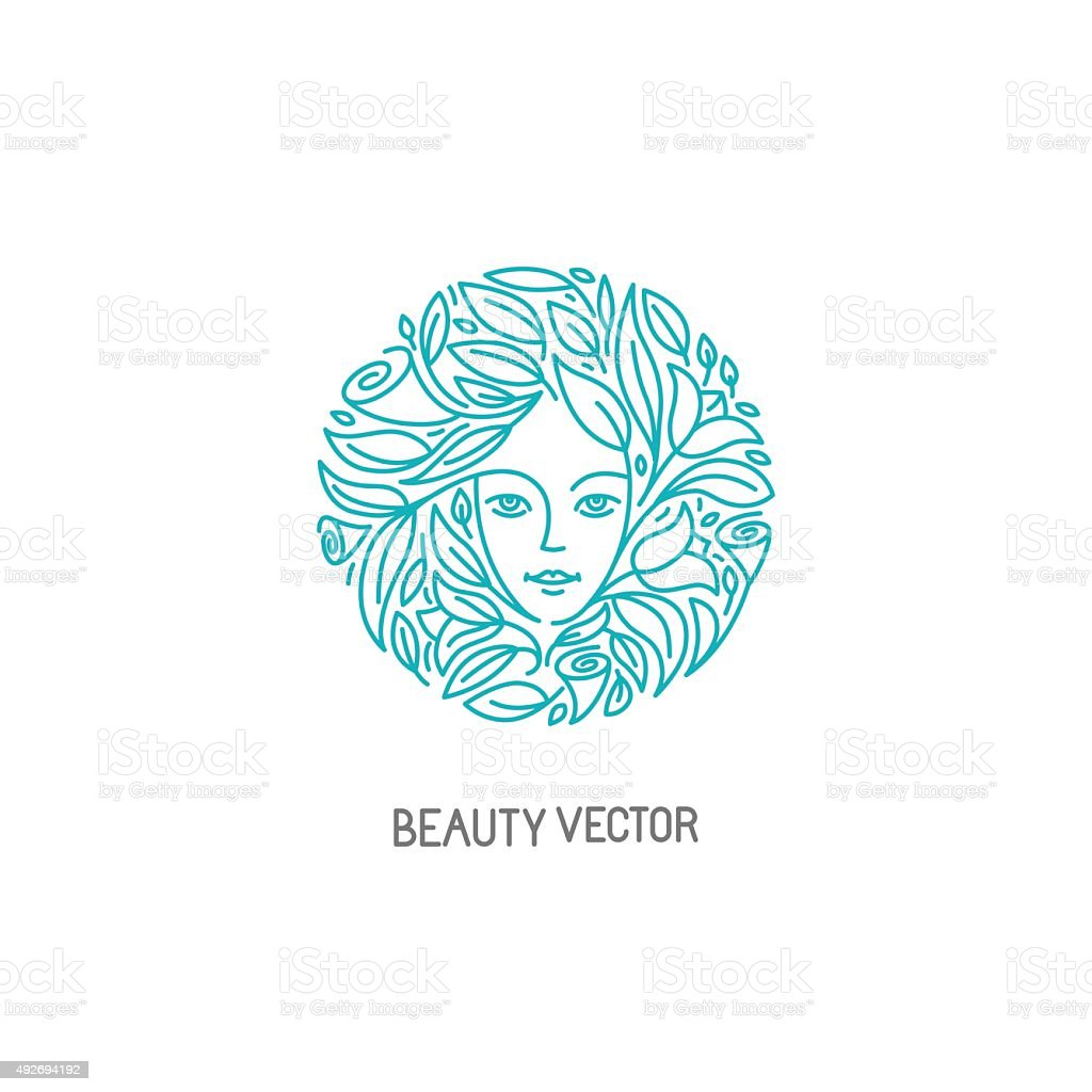 Vector logo design template vector art illustration