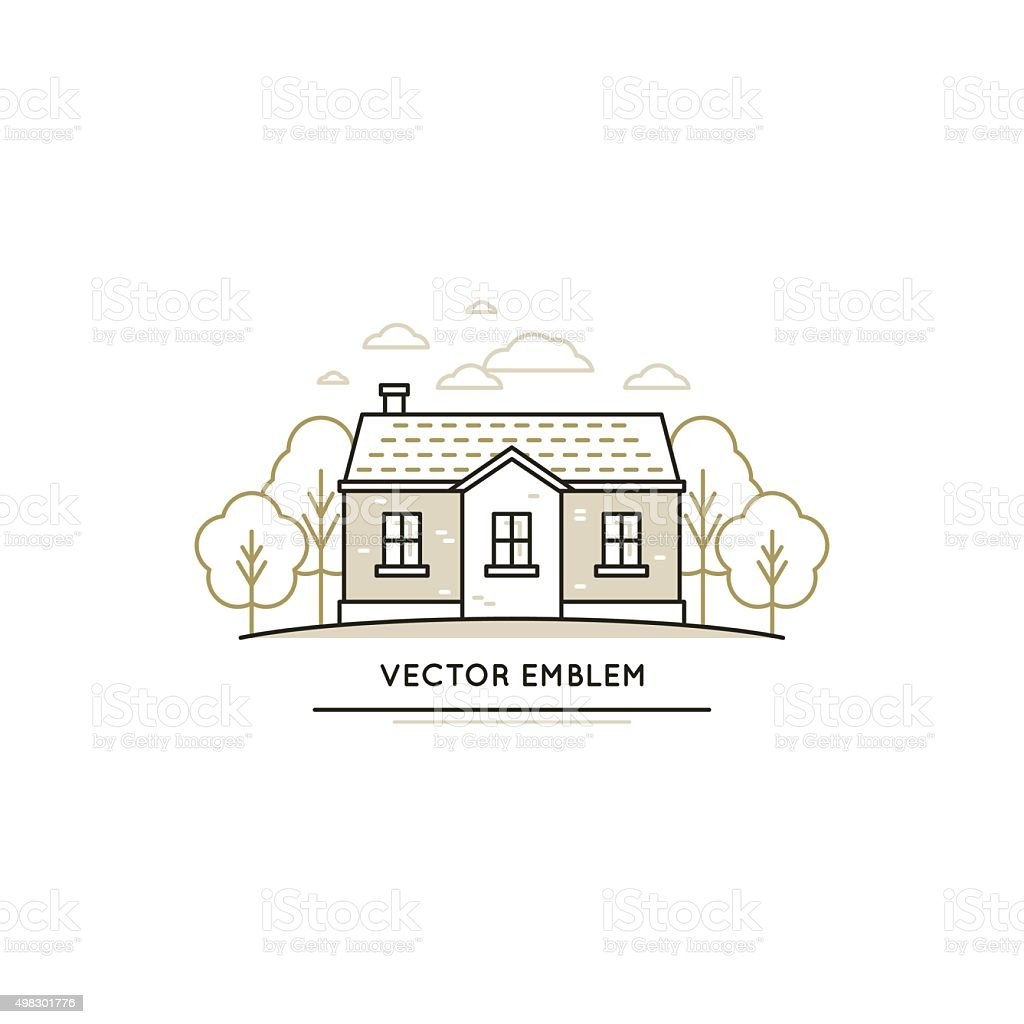 Vector logo design template vector art illustration