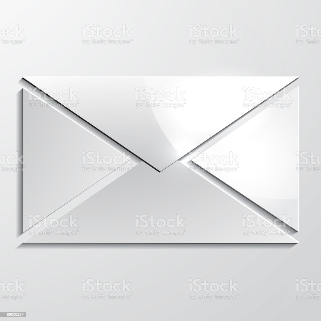 Vector mail icon. royalty-free stock vector art
