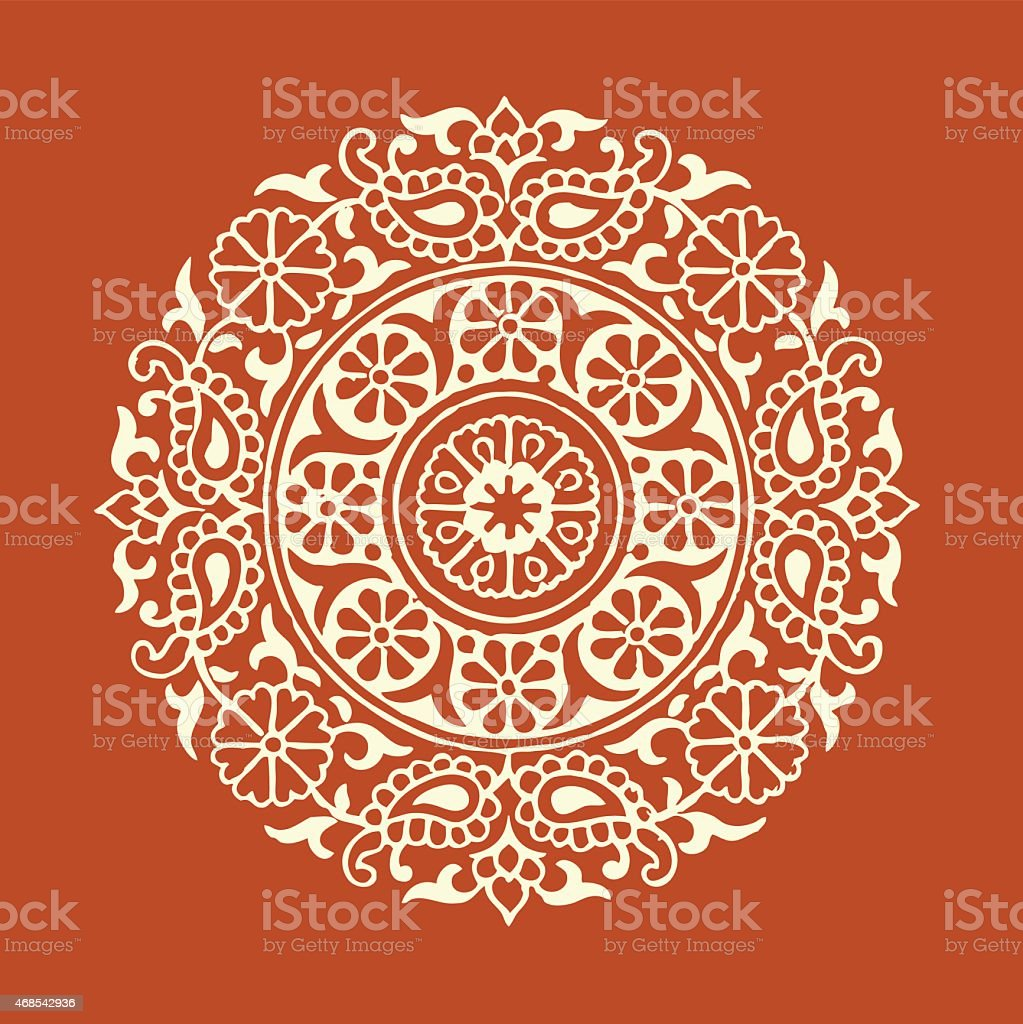 Vector Mandala Illustration vector art illustration