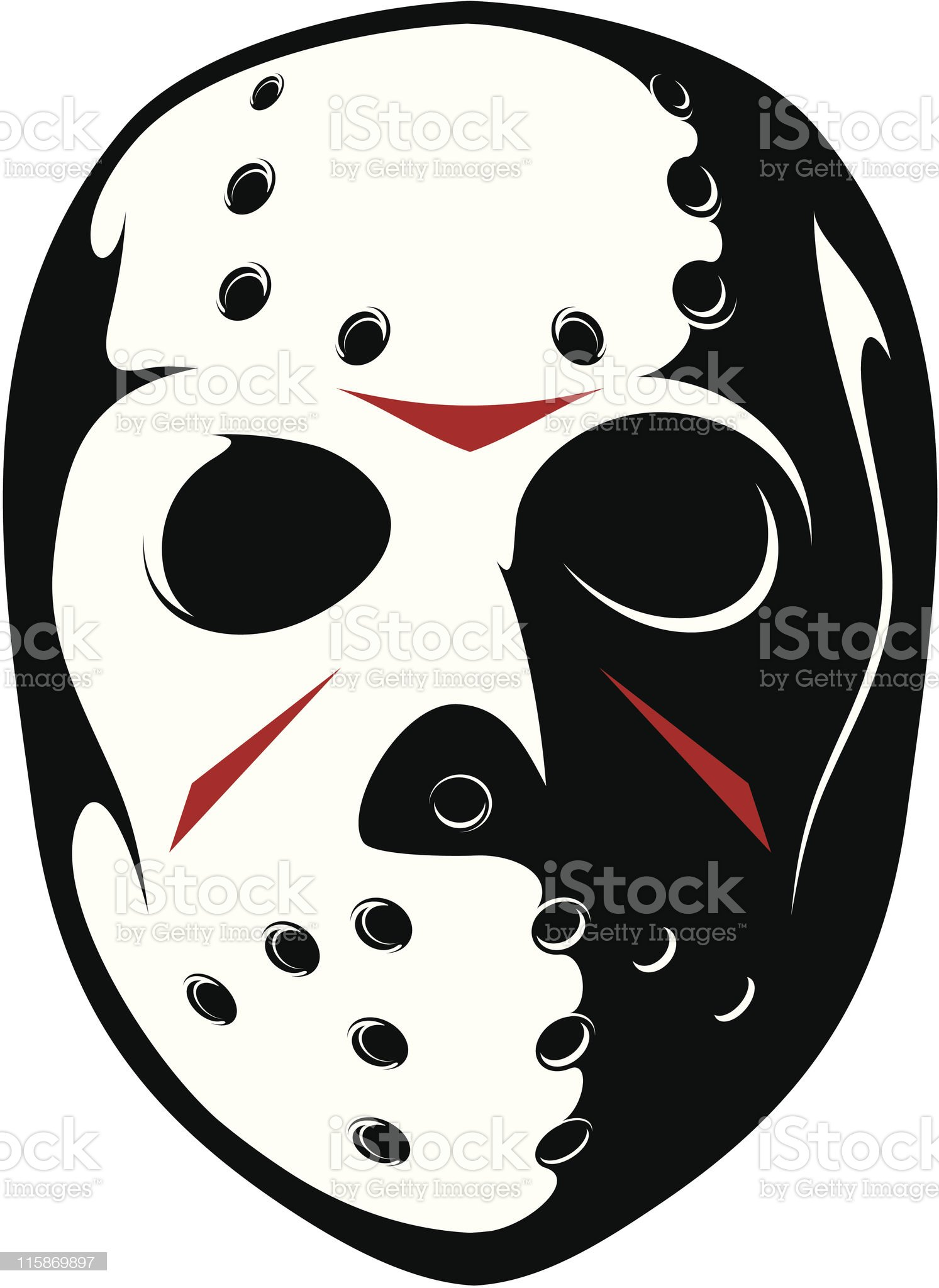 vector mask royalty-free stock vector art