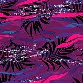 vector memphis style pattern