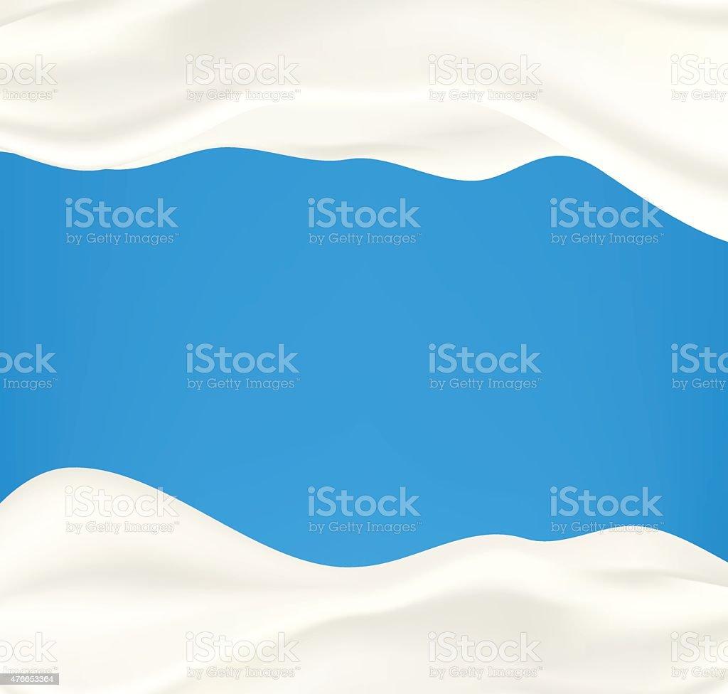 Vector milk background vector art illustration