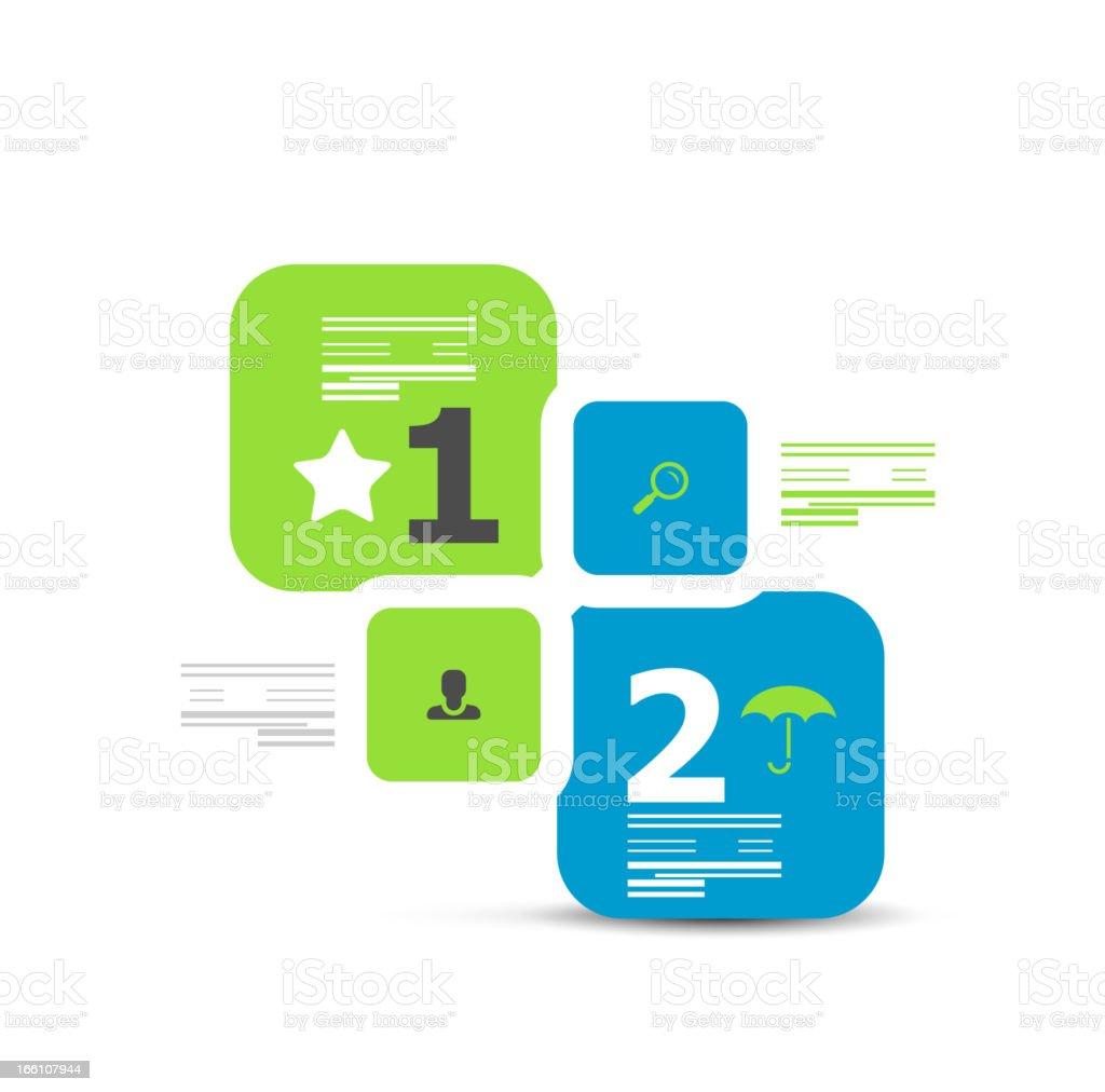 Vector minimalistic infographic design elements royalty-free stock vector art