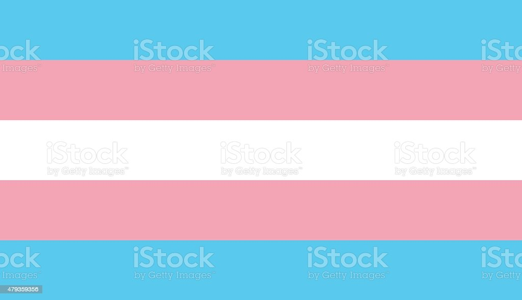 Vector modern transgender flag background vector art illustration
