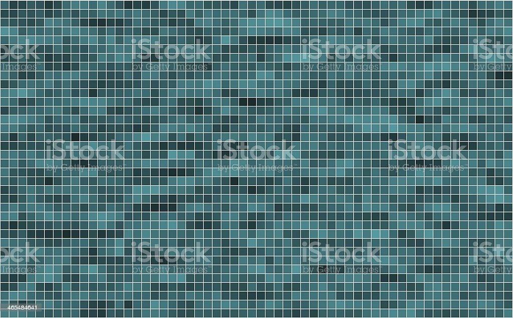 Vector mosaic background textured vector art illustration