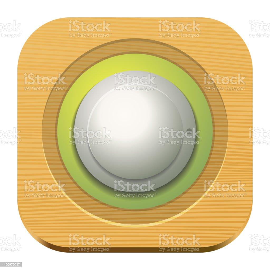 Vector music volume royalty-free stock vector art