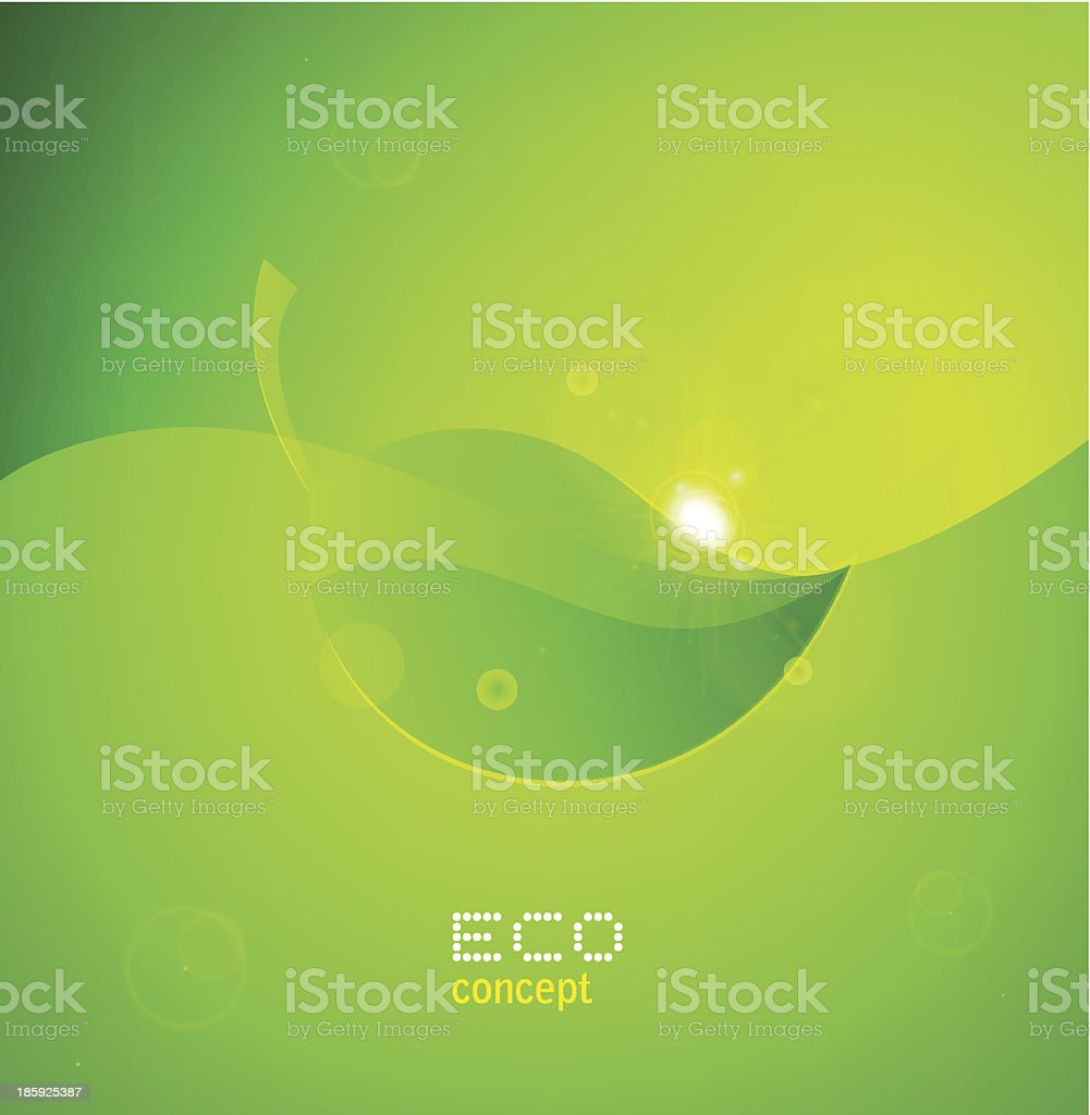 Vector Natural Design royalty-free stock vector art