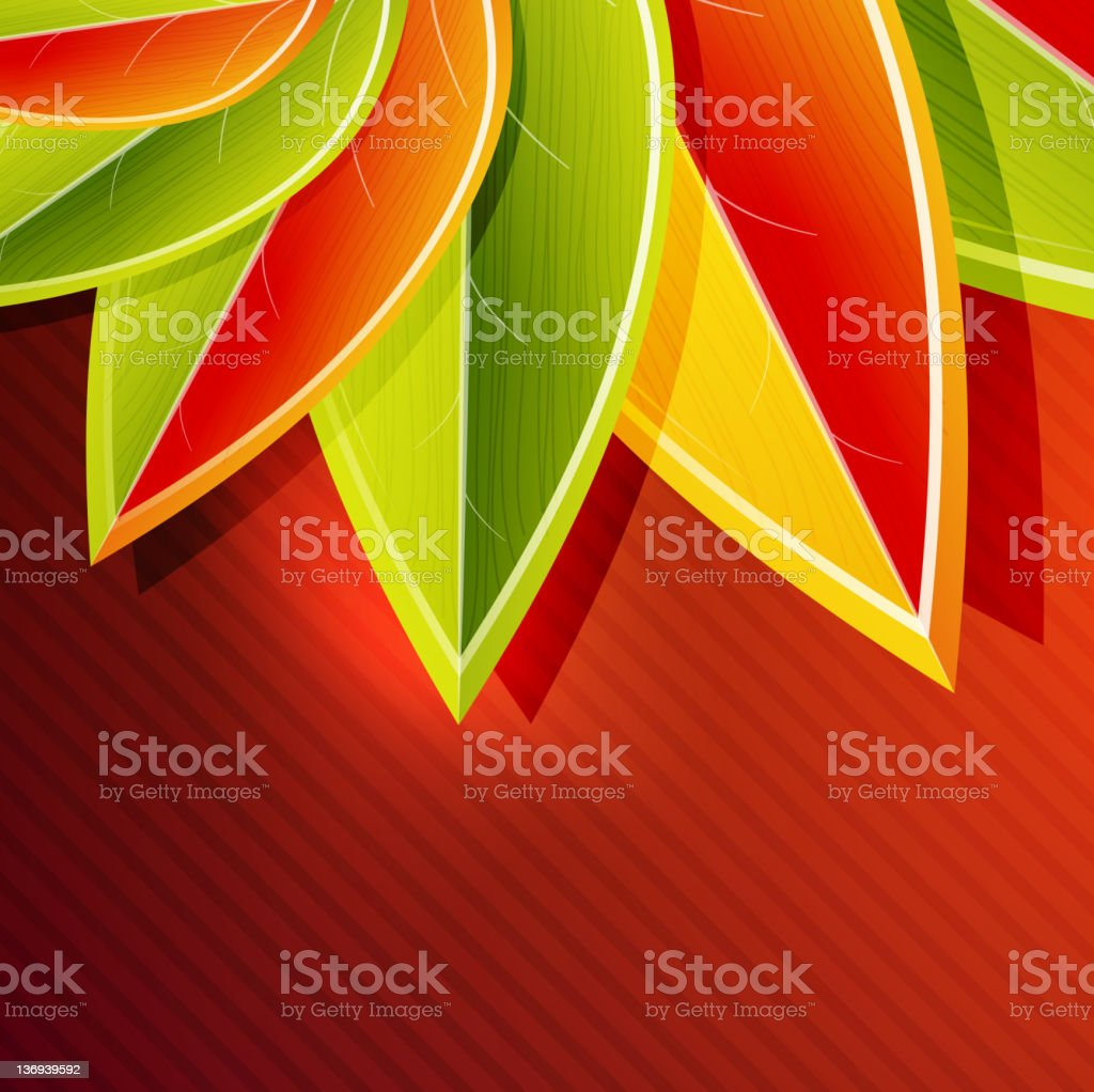 Vector nature background royalty-free stock vector art