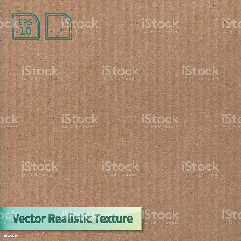 A vector of a cardboard texture background  vector art illustration