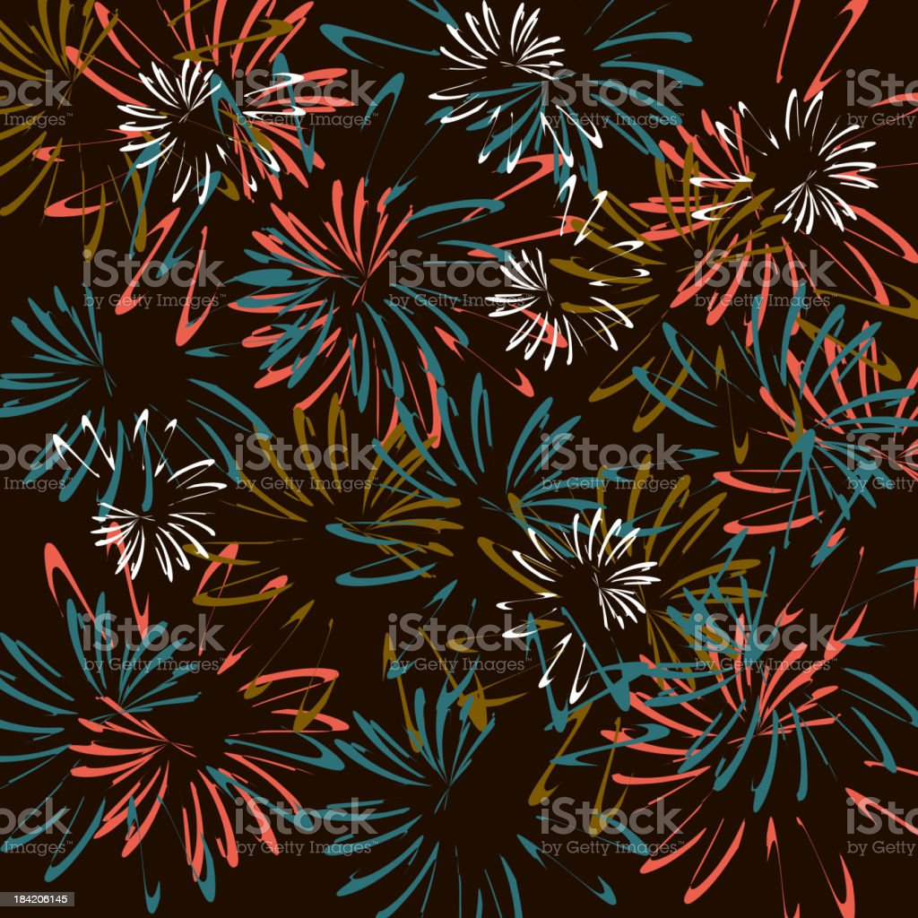vector of firework pattern background royalty-free stock vector art