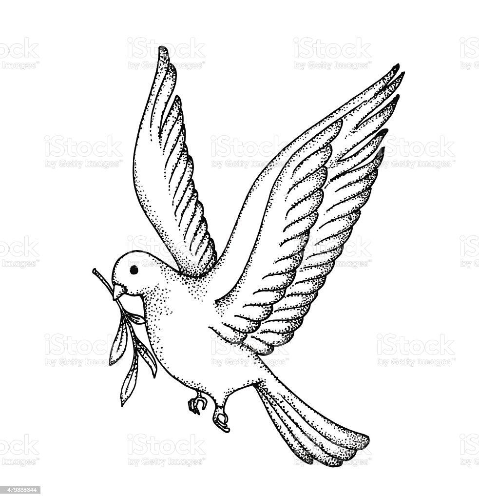 Dove bird peace sign - photo#18