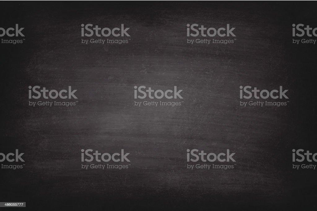 Vector of rough black chalkboard background vector art illustration