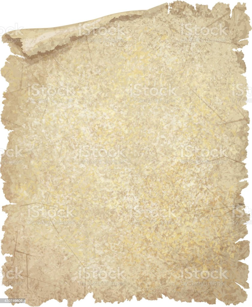 Vector old paper grunge texture. vector art illustration