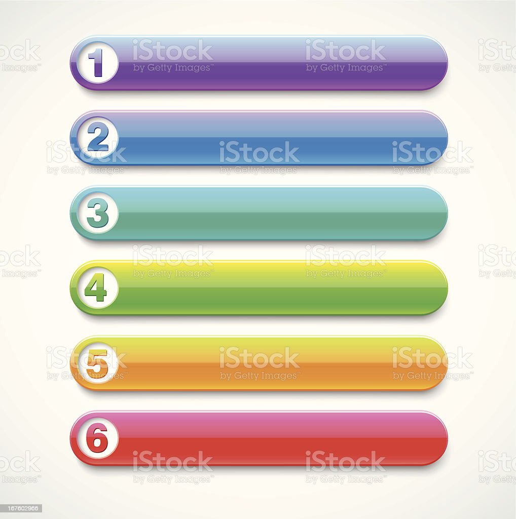vector options banners royalty-free stock vector art