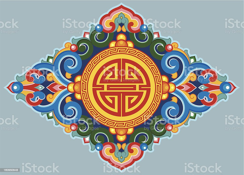 Vector Oriental Ornament royalty-free stock vector art