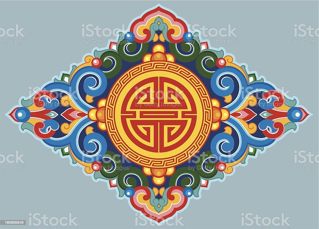 Vector Oriental Ornament vector art illustration