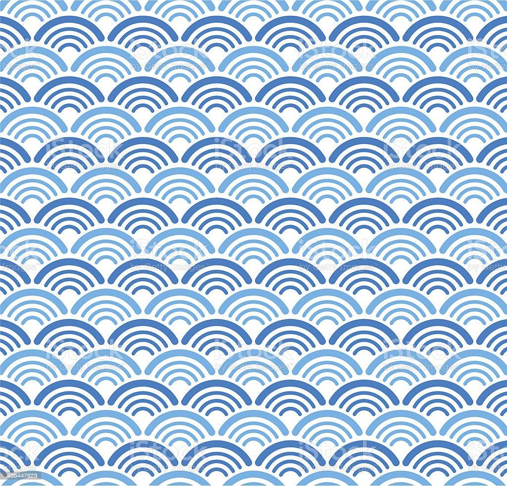 Vector oriental traditional pattern background vector art illustration