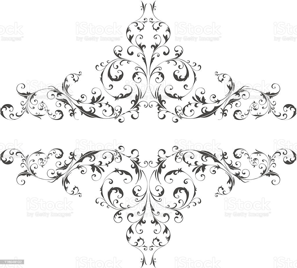 Vector ornament royalty-free stock vector art