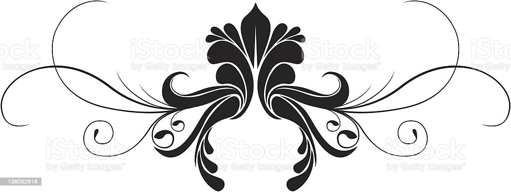 vector ornament vector art illustration