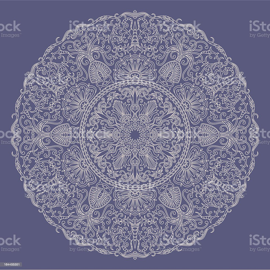 Vector ornament. royalty-free stock vector art