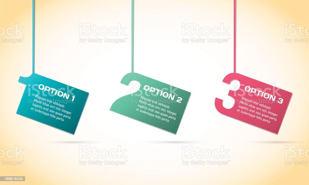 Vector Paper Progress background royalty-free stock vector art