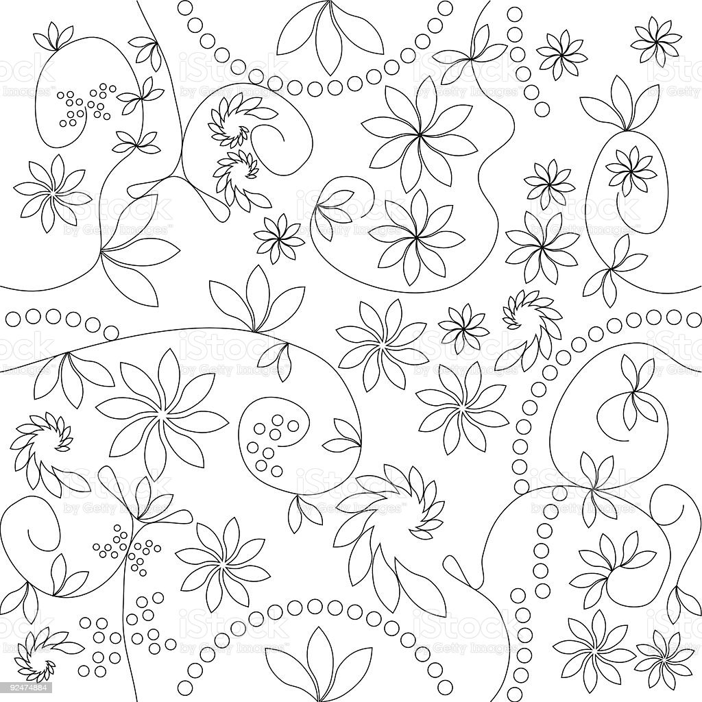 Vector pattern that matches from all sides royalty-free stock vector art