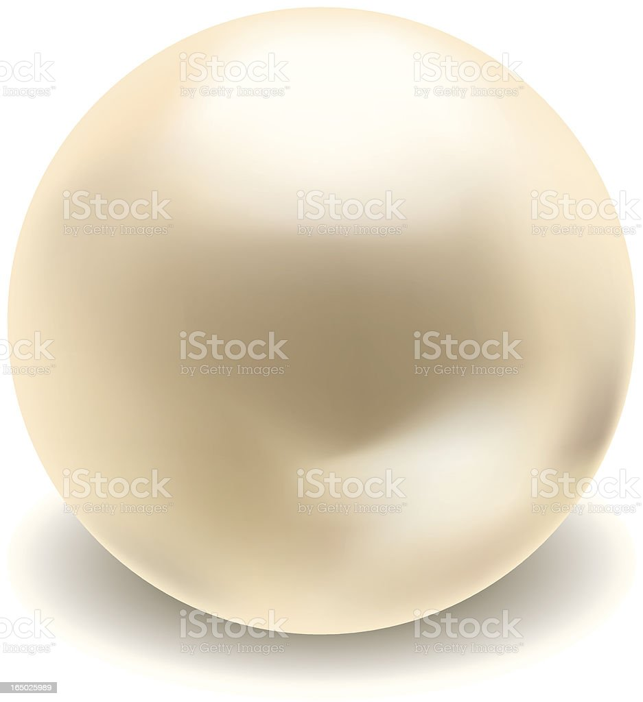 Vector Pearl royalty-free stock vector art