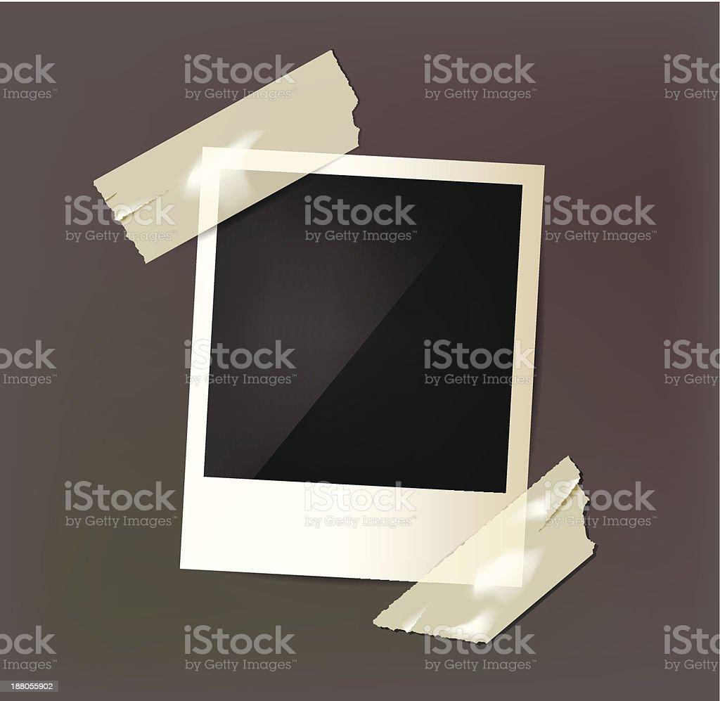 Vector photo frame. royalty-free stock vector art