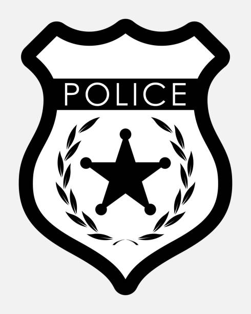 Police Badge Clip Art, Vector Images & Illustrations - iStock