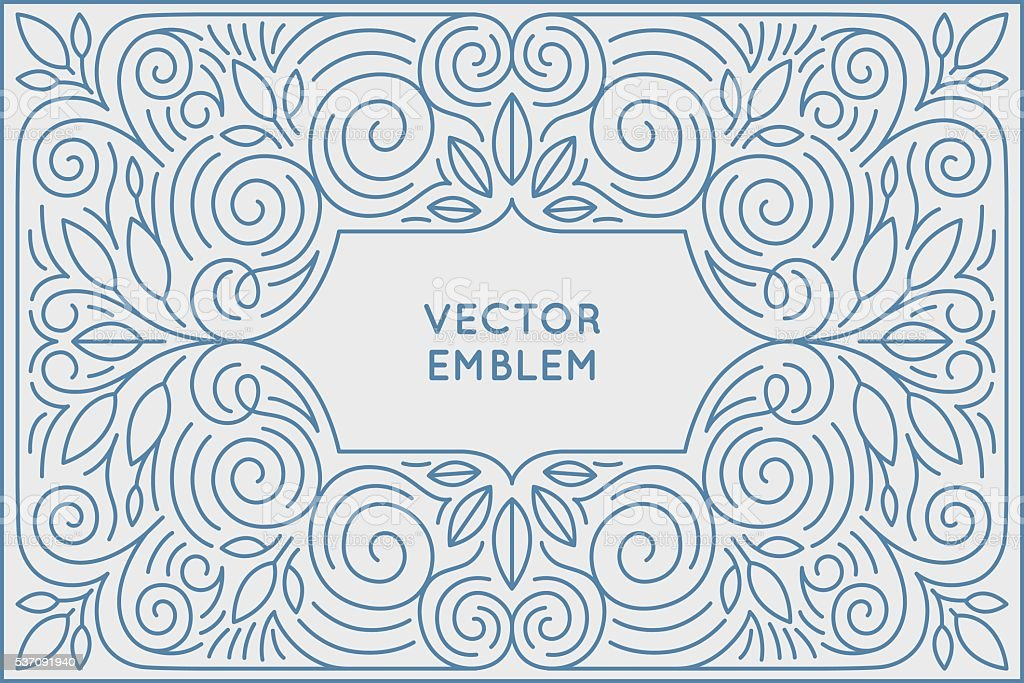 Vector poster design template and greeting card with copy space vector art illustration