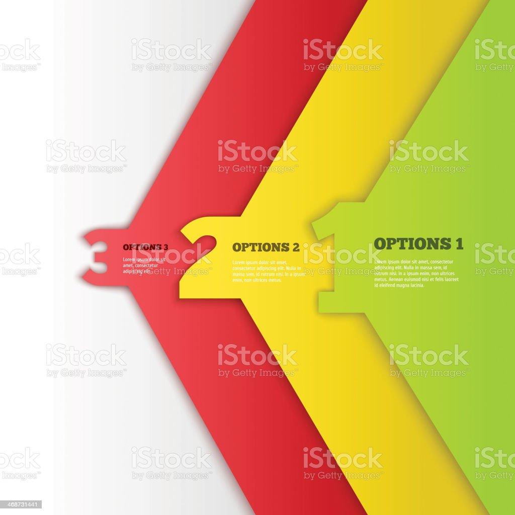 Vector Progress background vector art illustration