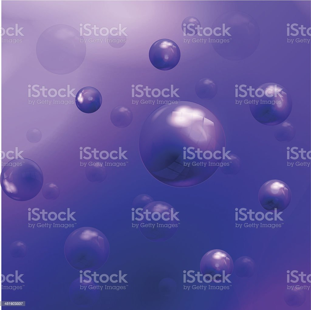 Vector purple molecules background royalty-free stock vector art
