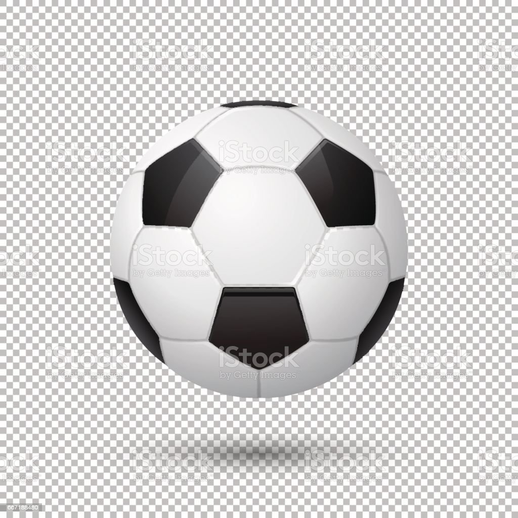 Soccer ball no background