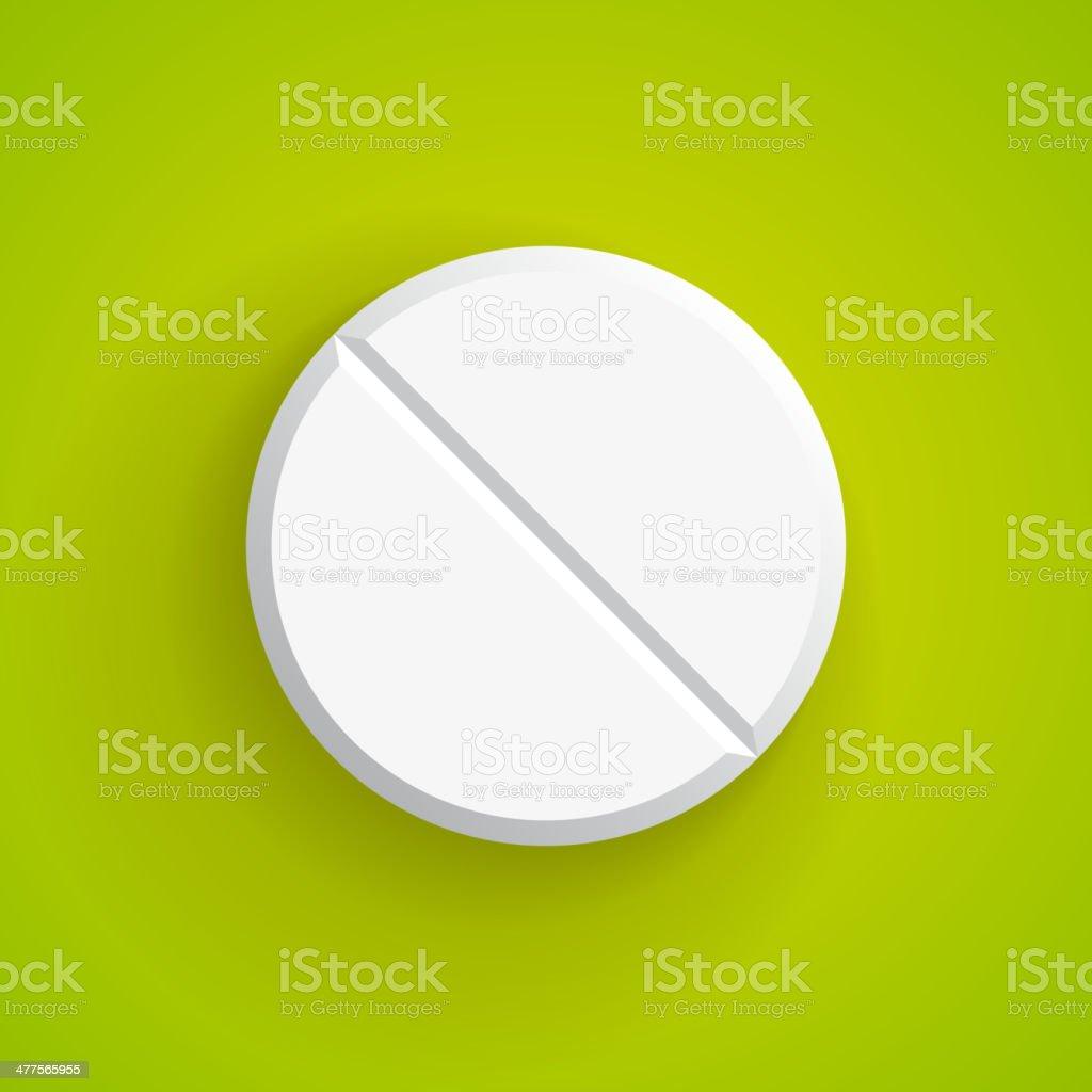 Vector Realistic pill, eps10 vector art illustration